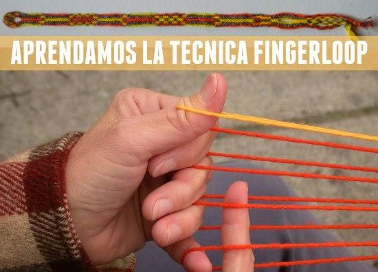 Como hacer Trenzas con los Dedos Tecnica Fingerloop