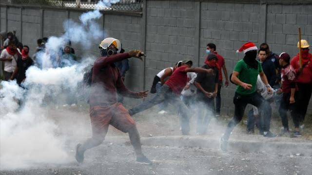 Protestas contra 'fraude' electoral dejan 7 muertos en Honduras