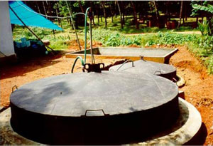 Energi alternatif yaitu Biogas