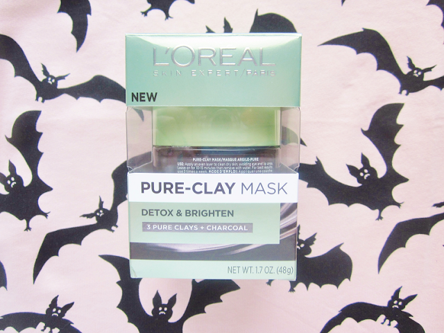 L'oreal Pure-Clay Mask Detox & Brighten Review