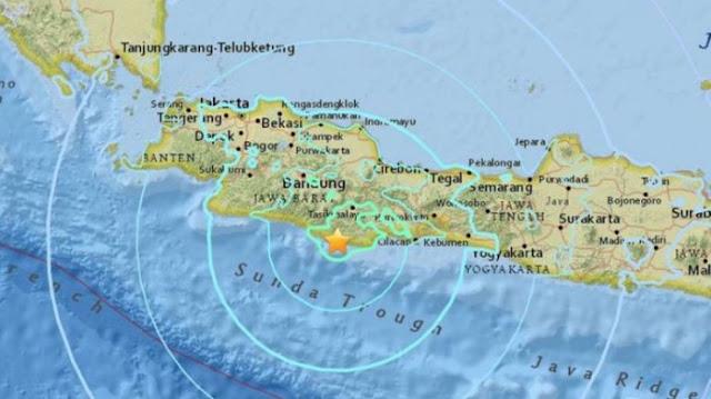 Gempa 6,4 SR Terjadi Di Lebak Banten, Guncangannya Terasa di Bogor