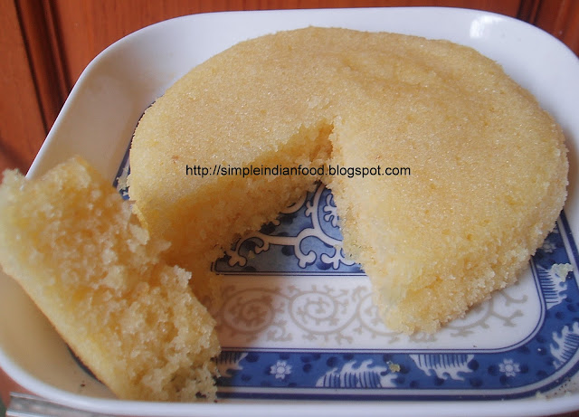 Simple Indian Food- An Easy Cooking Blog: Eggless
