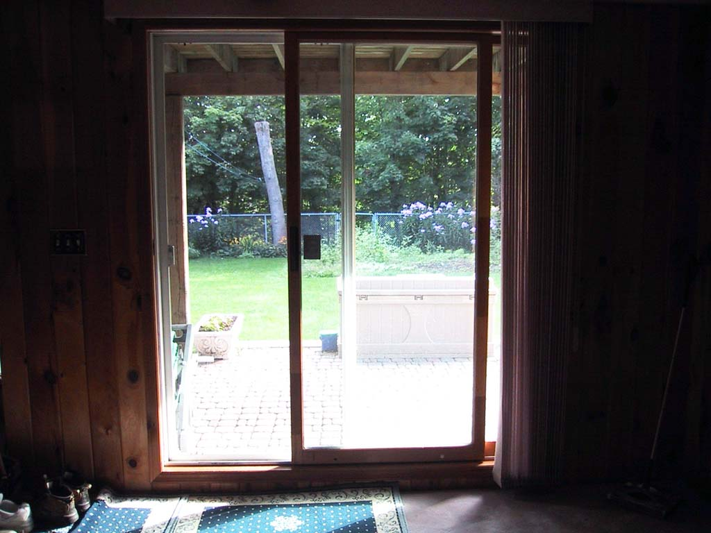 Types of sliding glass door for patio door ellecrafts for Sliding glass door to french door
