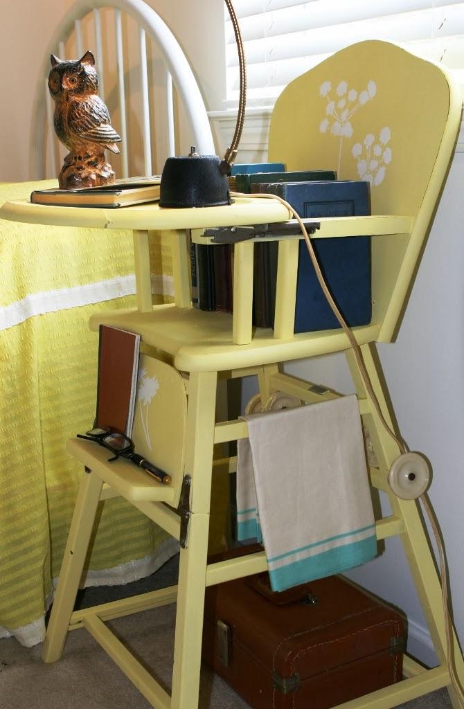 Vintage Diana Repurposed High Chair