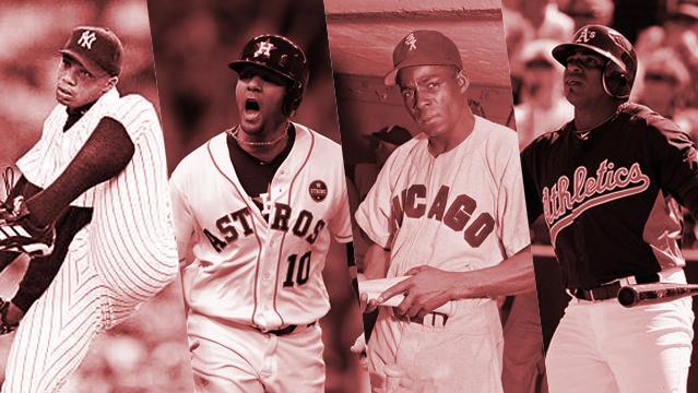 El Duque, Gurriel, Miñoso y Céspedes son algunos de los peloteros cubanos que tuvieron una espectacular temporada de novato y no tuvieron suerte con el premio