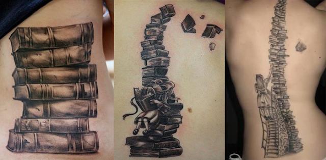 Resultado de imagem para tatuagens literárias