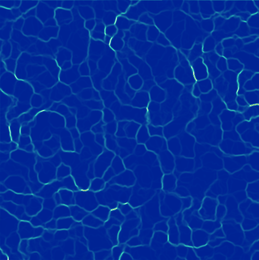 animation - How can I generate a simple river surface seen
