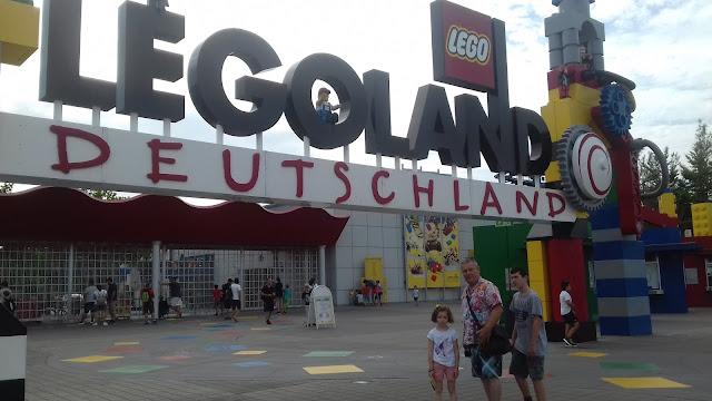 Parc d'attraction legoland voyage en famille en Allemagne