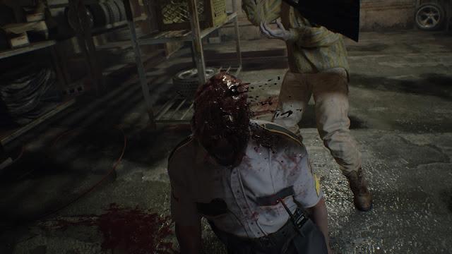 Resident Evil 7 gore