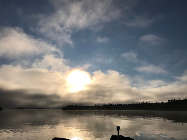 Lady Evelyn Lake, Ellen Island Camp, remote fishing trip