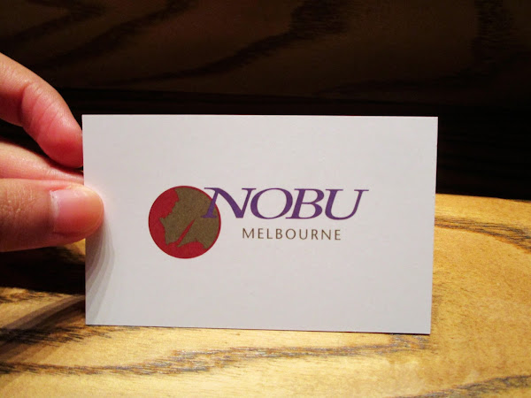 Nobu Japanese Restaurant @ Crown Entertainment Complex, Melbourne