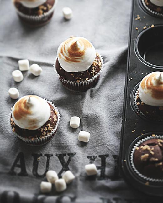 S'mores Cupcakes . Call me Cupcake .