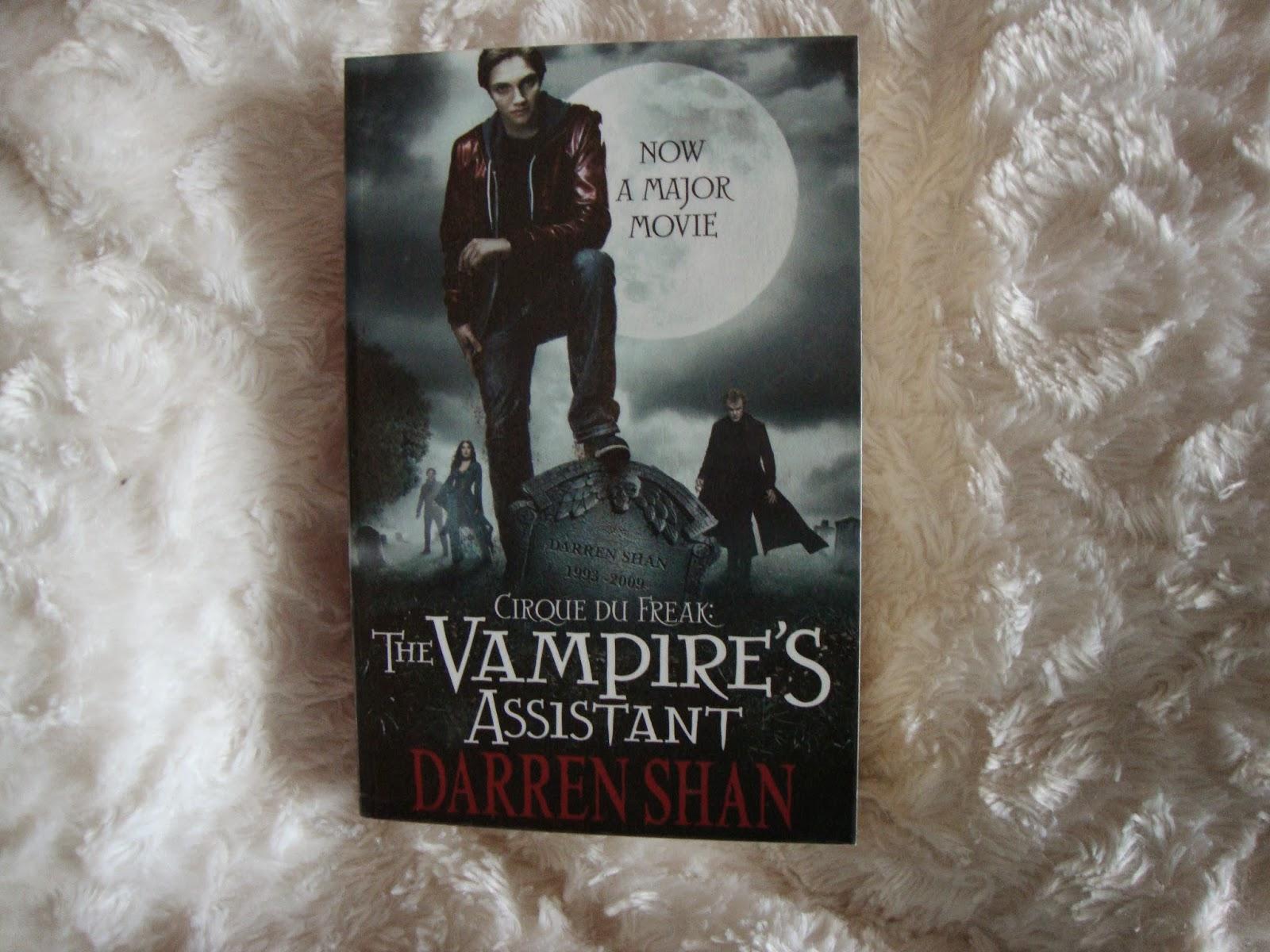 cirque du freak vampire mountain book review