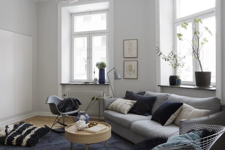 Apartamento escandinavo con toques elegantes