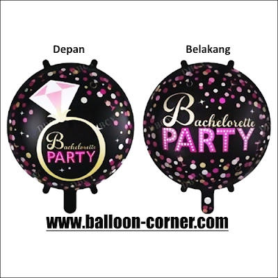 Balon Foil BACHELORETTE PARTY (2 in 1)