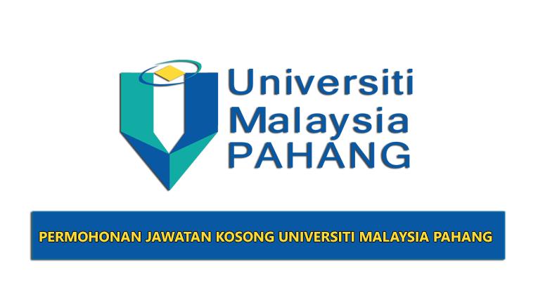 Jawatan Kosong di Universiti Malaysia Pahang UMP