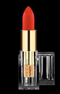 rouges à lèvres M.A.C x Charlotte Olympia Starlett Scarlet
