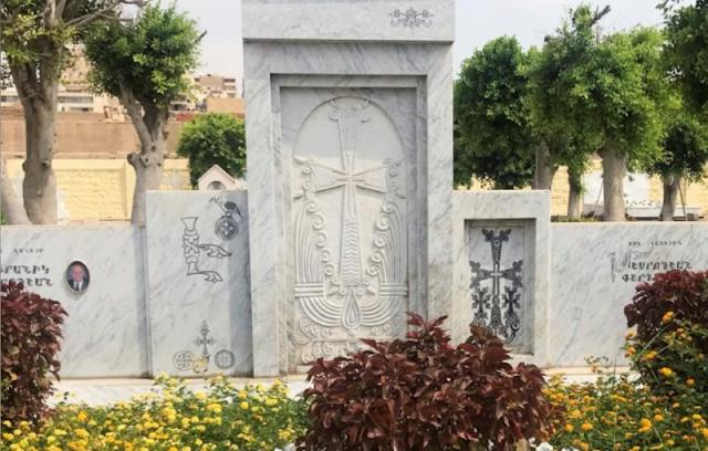 Renuevan el cementerio de los armenios en El Cairo