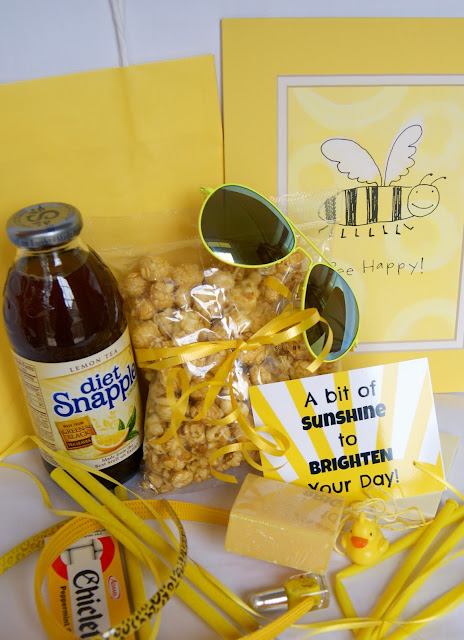 Michelle Paige Blogs Cheer Up Gifts Lemons To Lemonade