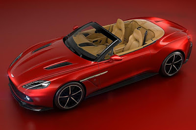 Aston Martin Vanquish Zagato Volante (2017) Front Side