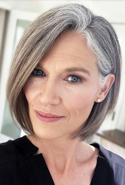 hairstyles for women over 50 2018