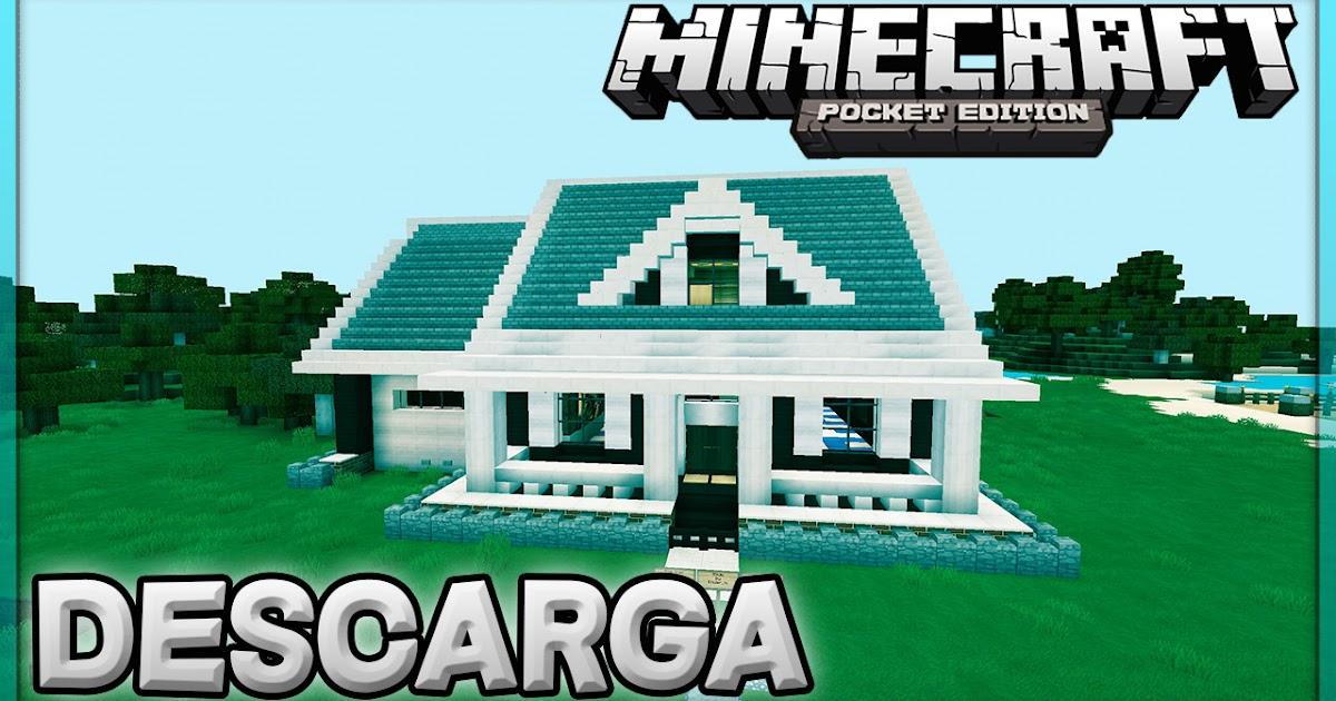 Chumadroiid super epic casa moderna para minecraft pe 0 for Casas modernas minecraft 0 10 0