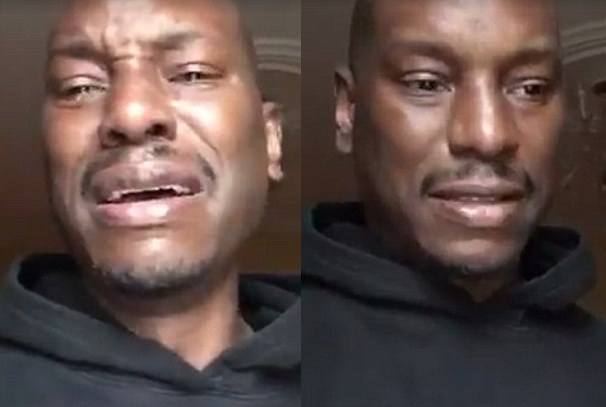 Tyrese cries over losing his daughter, says he's broke