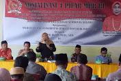 Baiq Diyah Ratu Ganefi Sosialiasi Pentingnya 4 Pilar Kebangsaan Di Lombok Tengah