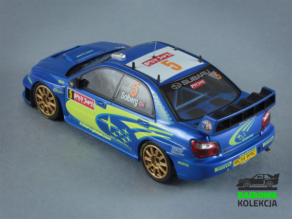 HPI Racing Subaru Impreza S11 WRC'05 Rally Japan 2005