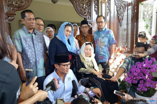 Yenny Wahid Diajak Gabung Timses Prabowo-Sandi, Begini Tanggapan NU
