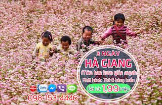 Tour Du Lịch Hà Giang - Mùa Hoa Tam Giác Mạch 3 Ngày