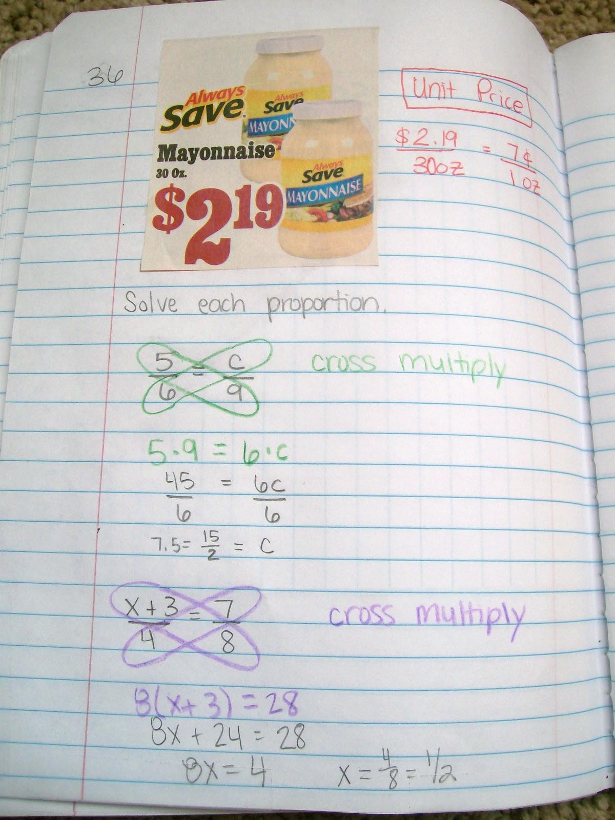 Math Love October