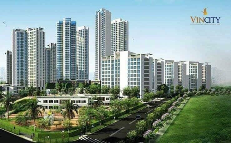 Không gian sống xanh Vincity New Saigon