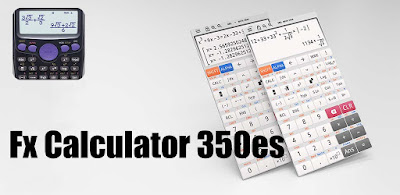 Fx Calculator 350es 84+ calculator sin cos tan Apk for Android