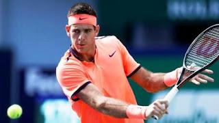 Juan Martín del Potro no pudo sostener su buen comienzo ante David Goffin y fue eliminado en primera ronda del Masters 1000 de Shanghai, China (Reuters)