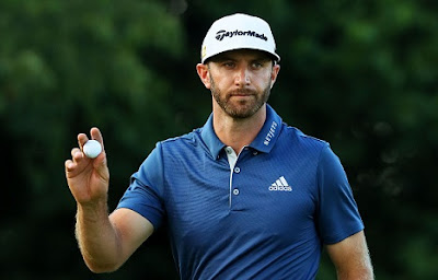 Golf : Dustin Johnson Favored to Win Masters
