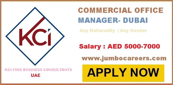 Office Manager Salary Range In Dubai