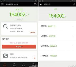 Xiaomi Mi 5s Spotted on AnTuTu; Scores a Massive 164K!