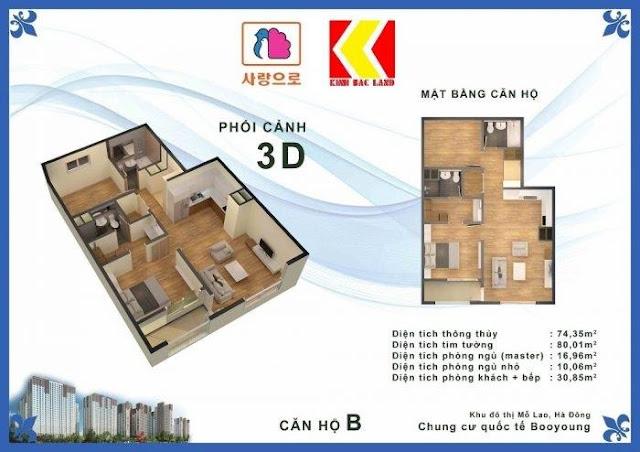 Chọn căn hộ Chung cư Booyoung Hình 2