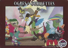 MLP Ogres & Outbliettes Series 4 Trading Card