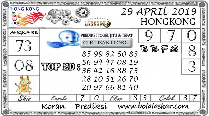 Prediksi Togel HONGKONG LASKAR4D 29 APRIL 2019