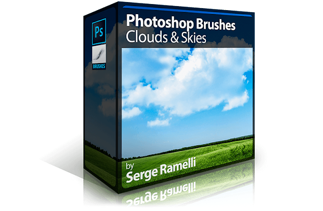 Photoshop Brushes: Clouds & Skies