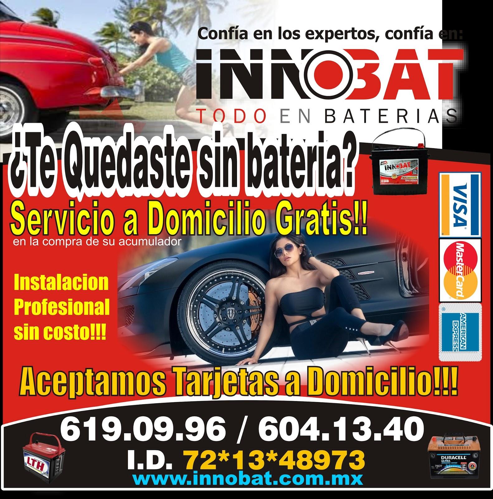 INNOBAT: Baterias LTH A Domicilio En Puebla