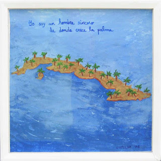 1978 Cuba painting by F. Lennox Campello
