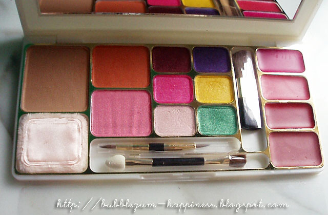 bubblegum-happiness: ♚ Review + Swatches : Beauty Kit