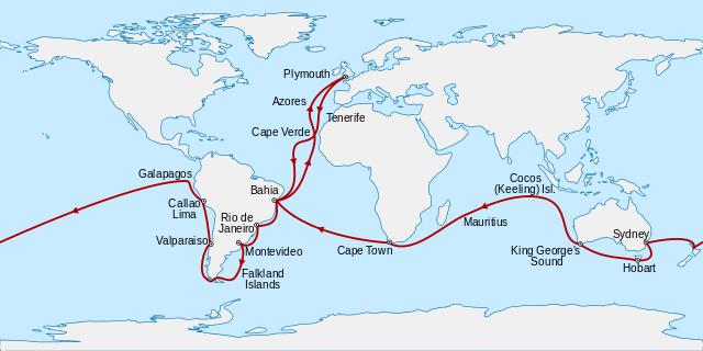 Voyage of H.M.S. Beagle