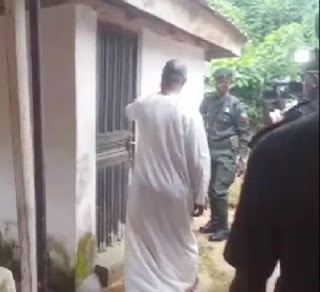 7 Graves Uncovered At Busted Badoo Shrine In Ikorodu ...See Photos
