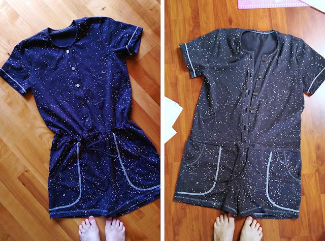 Sanibel Romper von Hey June Handmade aus Jersey @frauvau.blogspot.de