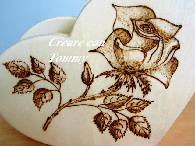 Creare con tommy creazioni in legno per la cucina - Decorazioni pirografo ...