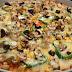 بيتزا نباتية خالية من الغلوتين